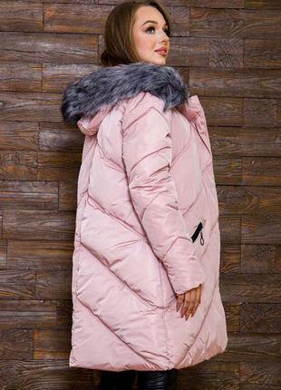 Куртка пудророзовый цвет демми есть цвета- xs s m l xl