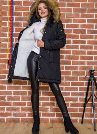 Зимние парки куртки на меху искусственный тёплый очень- 42 44 р xxs xs s m