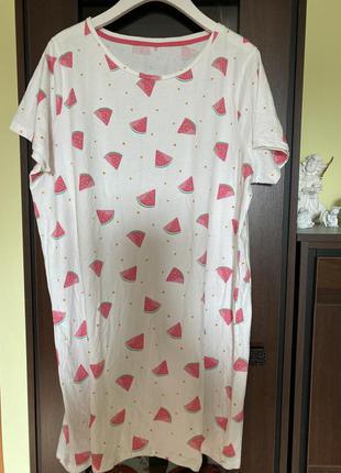 Красивая ночная рубашка батал marks & spenser