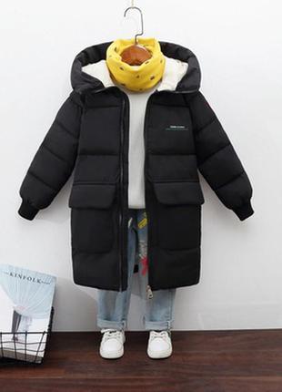 Удлиненная куртка, пальто