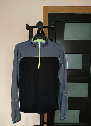 Вело кофта, футболка с длинным рукавом  фирмы crane herren winter radfahr shirt