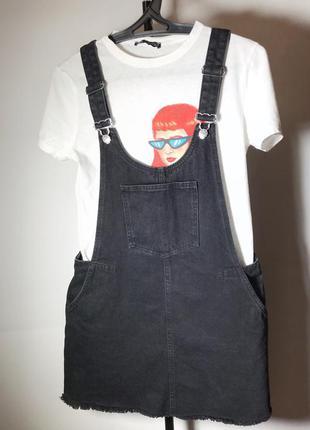 Комбинезон джинсовый женский zara - размер 36(s)