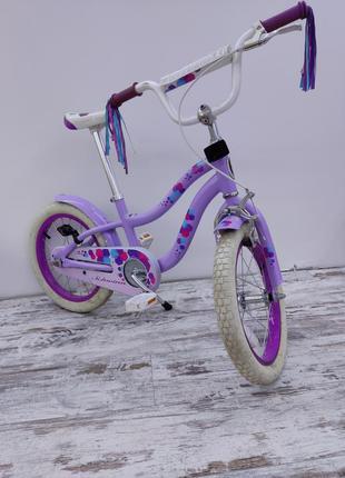 Велосипед для девочки стильный модный современный