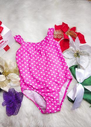 Яскравий купальник для дівчинки 3-4 рочки young dimension