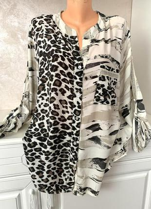 ❤️шикарная блуза большого размера оверсайз