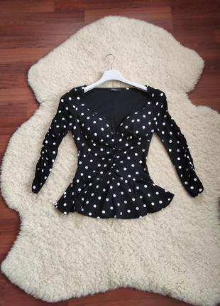 Стильна трикотажна блуза - guess