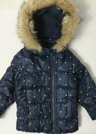 Демисезонная куртка на девочку lupilu cherokke