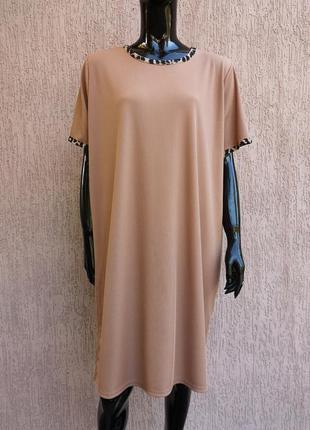 Сукня платье в рубчик батал boohoo uk 22