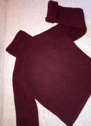 Очень теплый свитер dkny