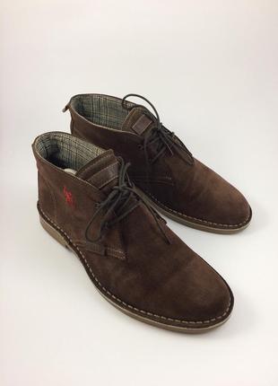 U.s. polo assn кожаные ботинки оригинал