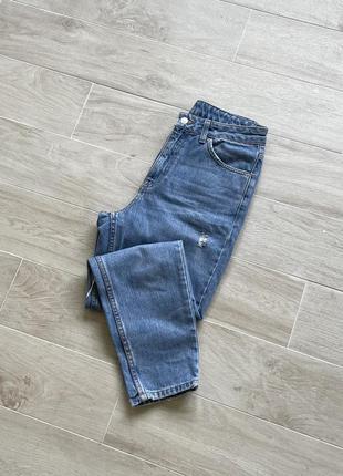 Джинсы мом рваные джинсы мом