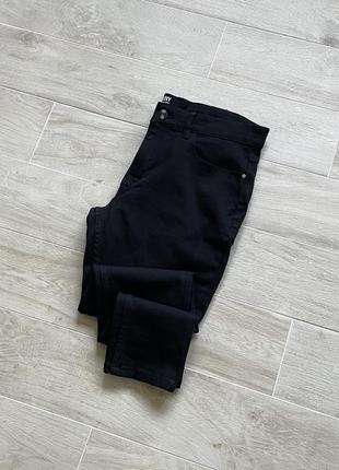 Чёрные джинсы зауженные джинсы skinny чёрные