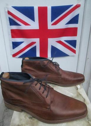 """Кожаные ботинки """" jones bootmaker """" 44 р. ( 30 см )."""