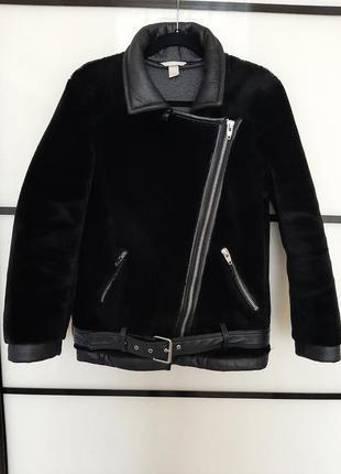 Куртка пилот h&m бомбер s зима