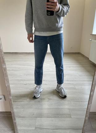 Джинсы мом mom зауженные джинсы