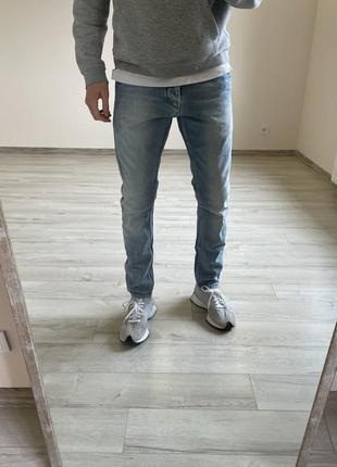 Джинсы scotch&soda зауженные джинсы
