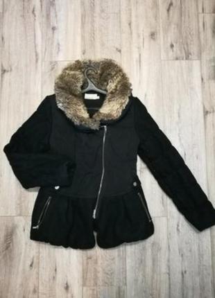 Пальто, куртка с мехом karen miller