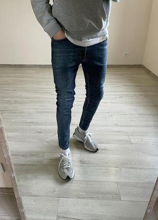 Зауженные джинсы zara штаны zara