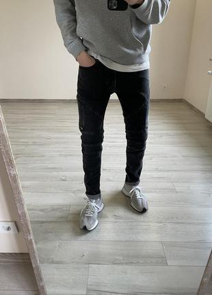 Зауженные джинсы hugo boss зауженные штаны hugo boss