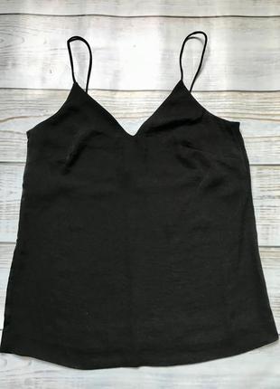 Актуальная майка блуза в бельевом стиле из красивой фактурной ткани