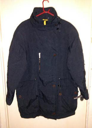 Демисезонная,удлиненная куртка,на синтепоне,большого размера,kitex,австрия