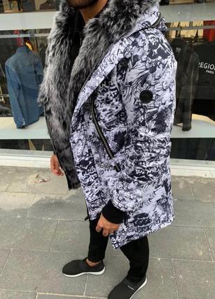 Куртка парка на меху