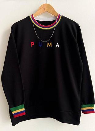 Кофта свитер puma old school