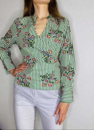 Блуза з красивою спинкою
