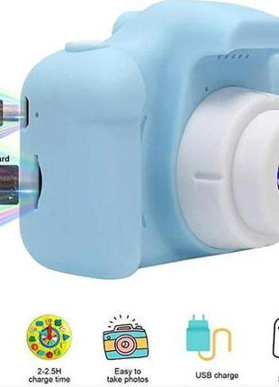 Цифровой детский фотоаппарат kids camera x200
