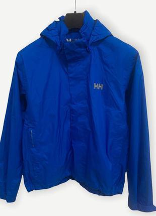 Куртка спортивная ветровка helly hansen синя вітровка чоловіча