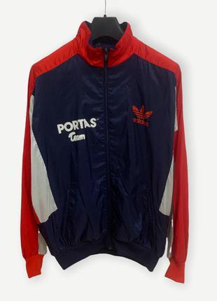 Винтажная куртка adidas ветровка спортивная вітровка вінтаж