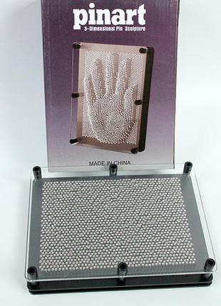 Экспресс-скульптор pinart 3d 20см*15см*4см гвозди пин-арт 3д отпечаток