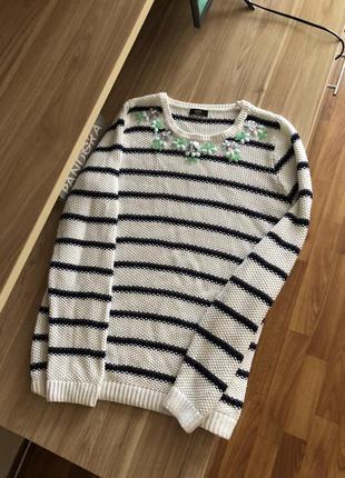 Тёплый свитер джемпер пуловер свитшот кофта реглан