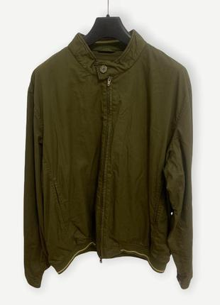 Куртка мужская ветровка tommy hilfiger хаки винтаж