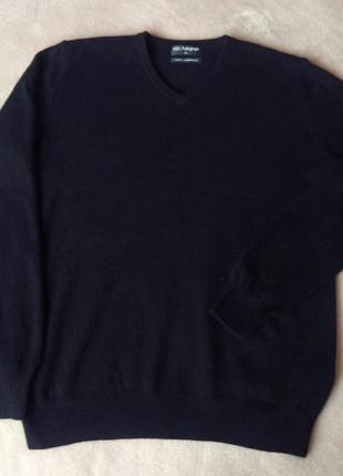 Джемпер з кашеміру marks & spencer чорний кашеміровий пуловер свитер кашемир натуральный теплый