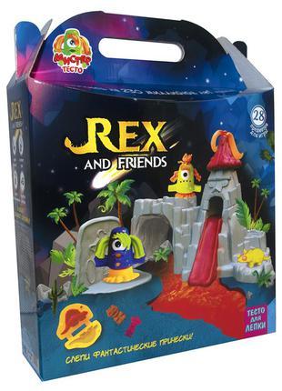 Набор для креативного творчества «rex and friends»