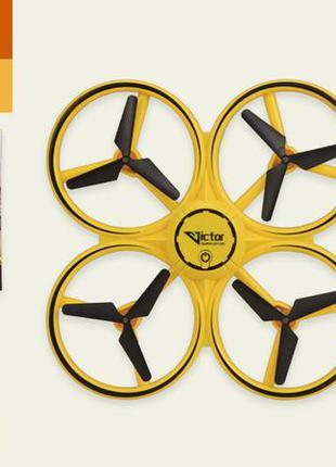 Квадрокоптер ty-t14 (36шт) управление рукой,свет, в кор. 33*5,5*24 см, р-р игрушки – 17*17*3.8 см