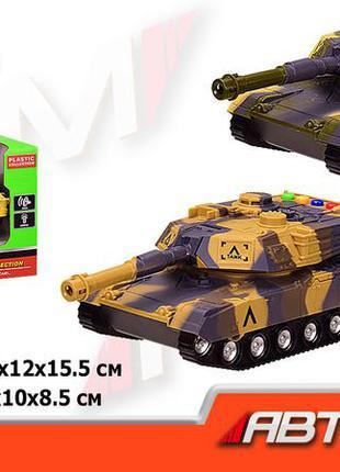 Танк батар 7959 (36шт|2) 'автопром', 2 цвета, свет,звук,в кор.29,5*12*15,5см