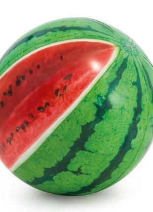 Мяч надувной 58075 (12шт) 'арбуз' цветн. от 3 лет 107см