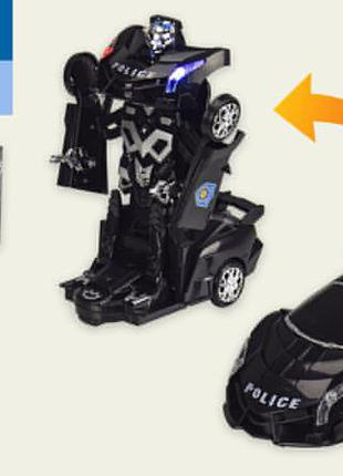 Машина р|у js010 (36шт|2) полиция, свет,звук, р-р игрушки - 22*8,5*8см, в кор. 27*13*13см
