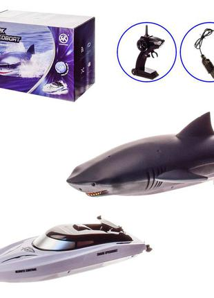 "Лодка ""акула"" на радиоуправлении bnft rh705"