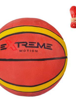 Мяч баскетбольный bb2117 (30шт) №7, резина, 600 грамм, 1 цвет