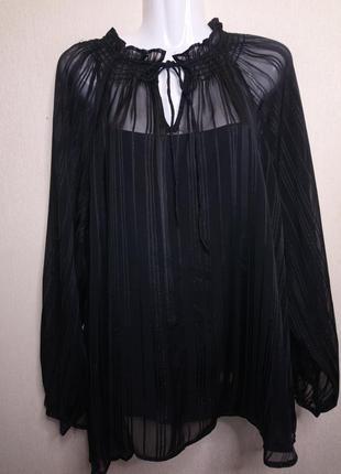 "🌺 🌿 🍃 нарядная новая блуза ""m&s collection""🍃 🌺 🌿"