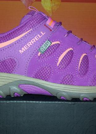 Merrell новые оригинал кожаные кроссовки
