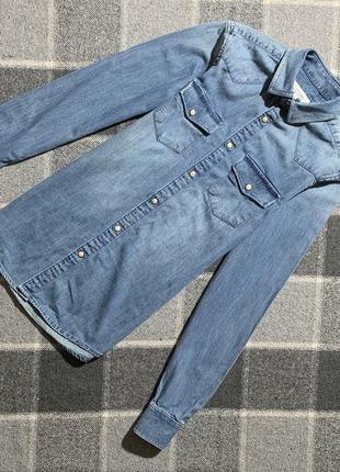 Женская джинсовая рубашка river island