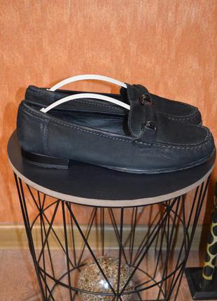 Кожаные туфли мокасины ara