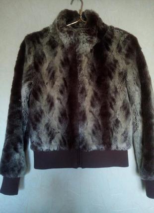 Куртка-шубка от h&m