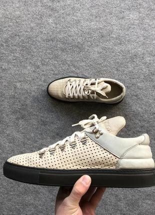 Оригінальні шкіряні кеди filing pieces low leather shoes