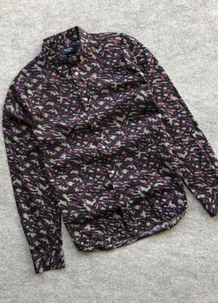 Оригінальна сорочка зі свіжих колекцій paul smith jeans shirt tailored fit multicolor