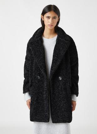 Пальто-шуба pull&bear